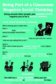 Being Part of a Classroom – Poster